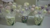 Cake pops for my Administrative Assistants at the office. They loved them