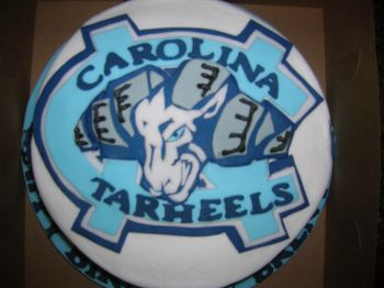 This is the 2nd UNC Ram cake I made. I tried to get more detail in this one. TFL!