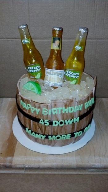 45th Birthday Barrel of Beer