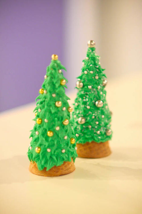 Christmas Tree Craft Ice Cream Cone : Redirecting to http kecentral tutorial