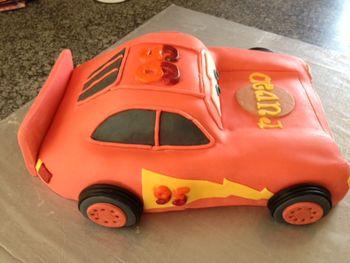 Lightning McQueen - side