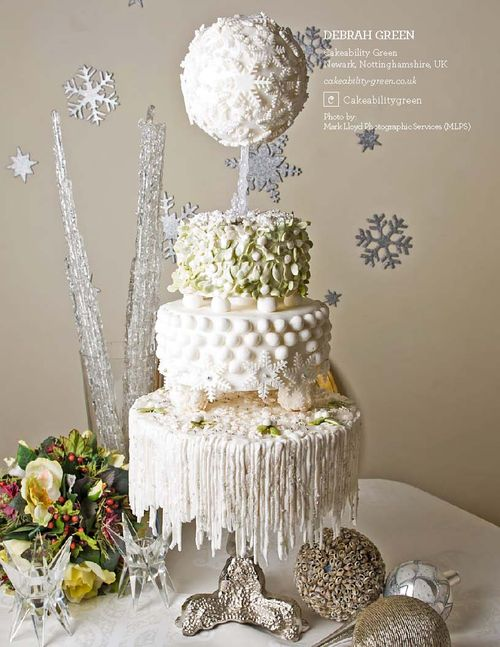 How To Make Hanging Icicles On Your Cake Cakecentral Com