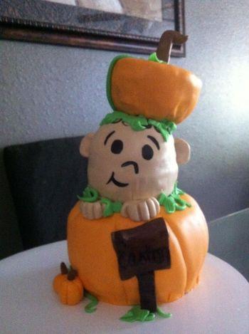 * Lil Pun'kin cake