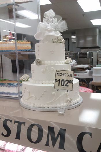 Walmart Bakery Wedding Cakes Pictures