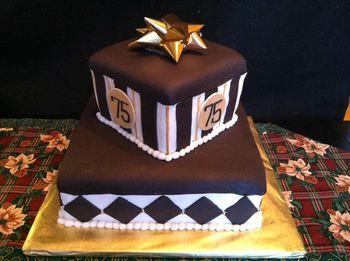 75Th Birthday Cake For A Handyman CakeCentralcom