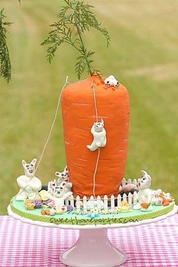 Cake Shaped Like A Carrot