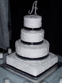 Cousin's daughter/wedding cake
