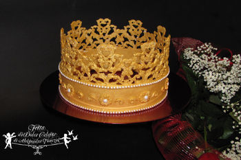 How To Make A Crown Using A Wilton Baroque Mold