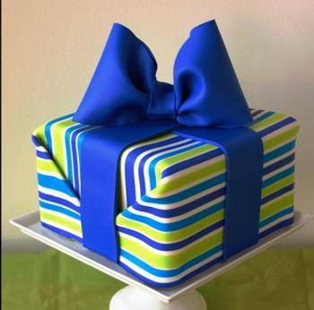 Cake Decorating Fondant Stripes : Fondant Stripes - CakeCentral.com