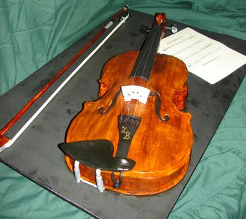 """16"""" viola and bow."""