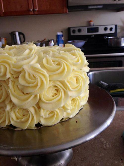 rosette cake!