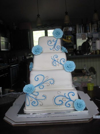 wedding cake delivery time wedding cake delivery disaster cakecentral 22434