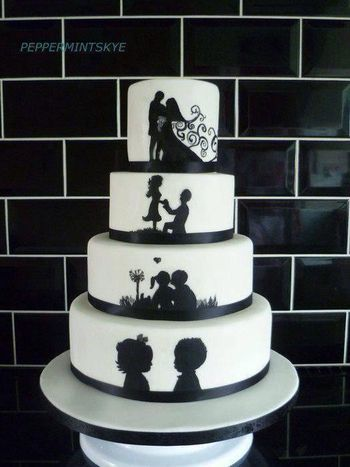 1000  images about Cake; Silhouette on Pinterest | Clip art, Cakes ...
