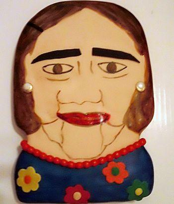 A grandma cake for grandma.