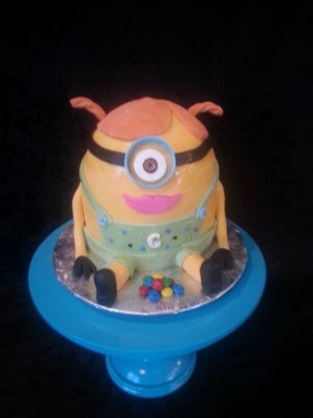 Made this to share with my class tomorrow... Fondant is still wet.