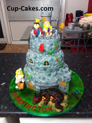 *  Another Cake I did for A friends little boy.