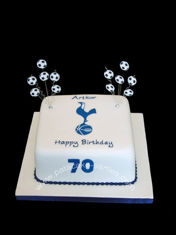 Happy 70th birthday to Arthur, a life-long Tottenham Hotspur Football Club fan!