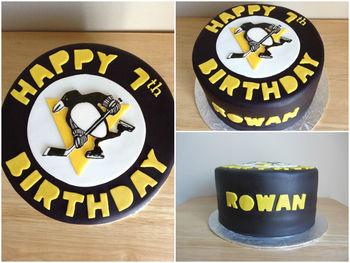 Pittsburgh Penguin Cake