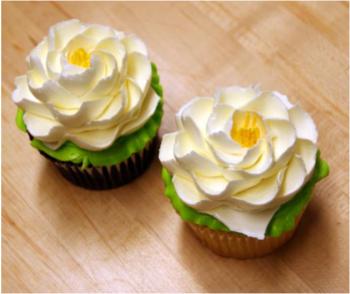 How To Make White Flower Cake Shoppe Flowers