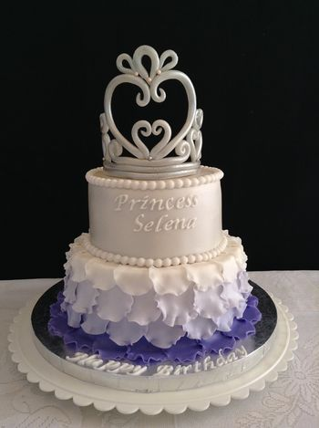 Princess Sophia themed birthday cake