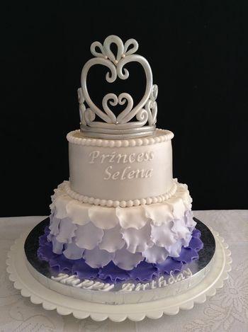 Princess Sophia themed birthday cake