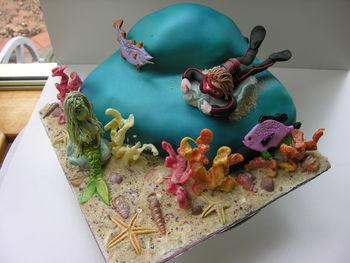 Underwater Sea Cake