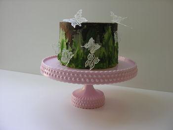 Farewell cake, Sugarveil butterflies