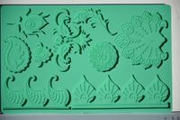 Sugar Creations Peacock mold