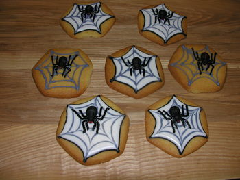 Spider bickies