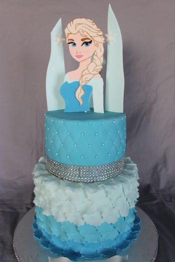 Elsa is 2D and completely edible.