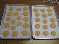 creamsicle springerle cookies