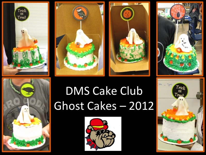 These cakes were made by my 7th & 8th grade middle school students. They had so much fun!