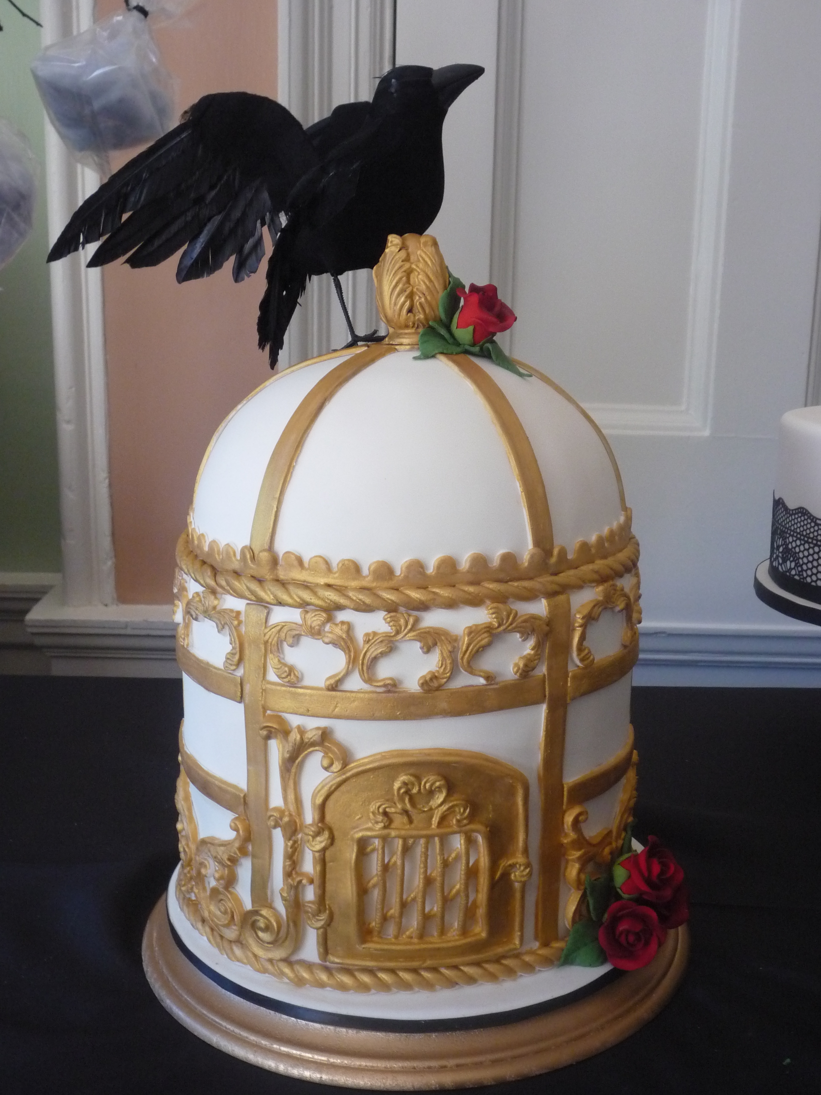 This was a one of the cakes for the Halla Galla Victorian soiree event in St Augustine Florida.