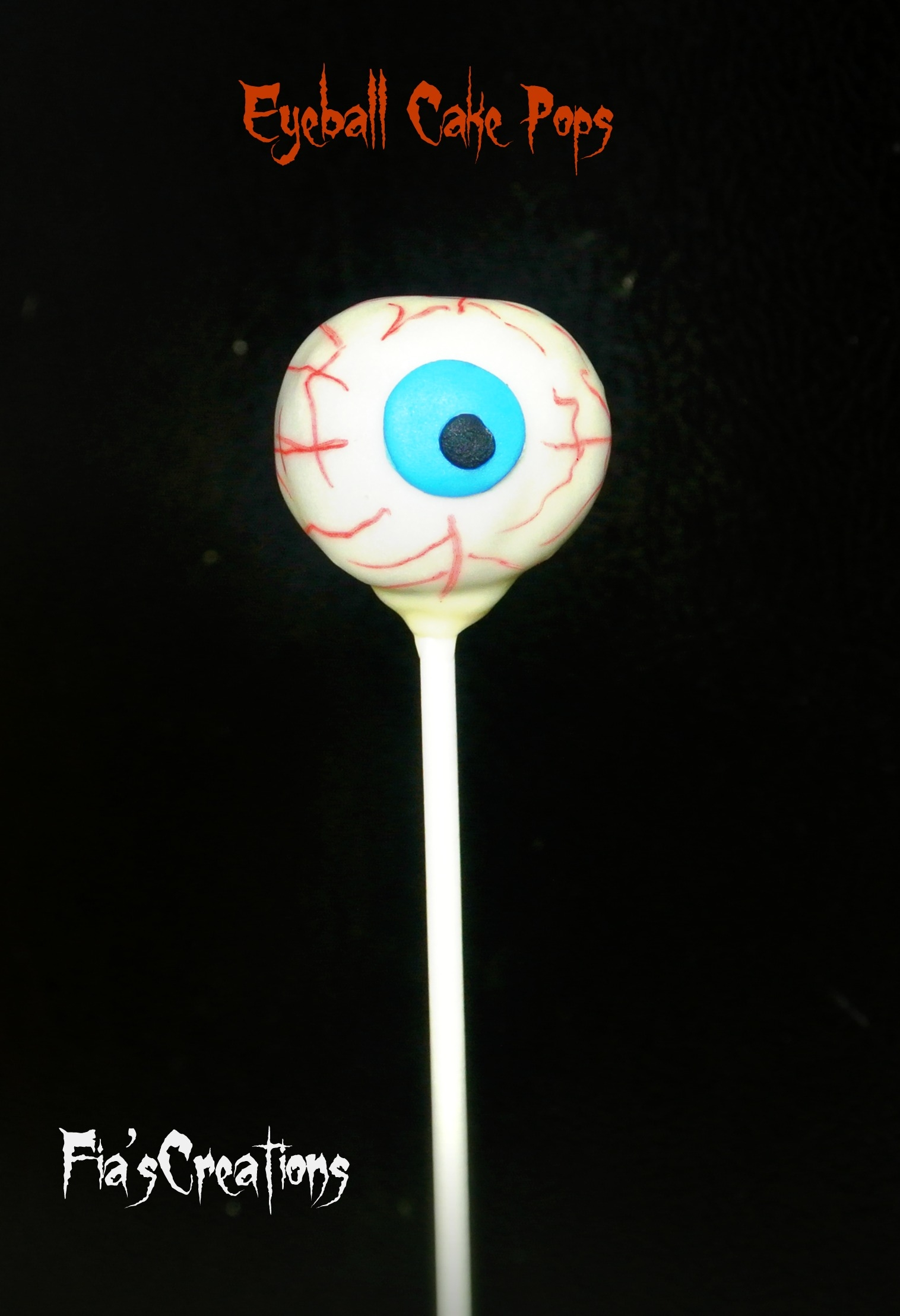My 1st Halloween Cake Pops.