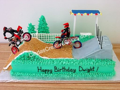 Bmx Cake Decorations