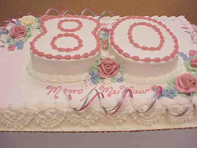 Grandmothers 80Th BirthdayAny Ideas Anyone CakeCentralcom