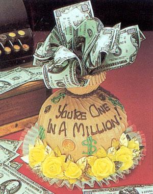 Money cake ideas - Money cake decorations ...