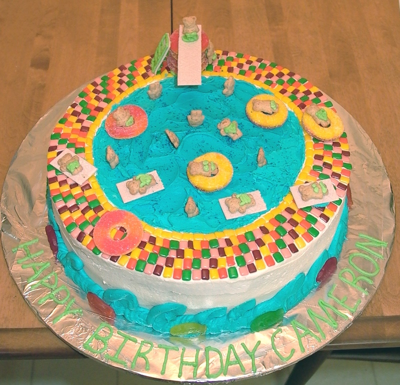Swimming Pool Cake Need Ideas. - Cakecentral.Com