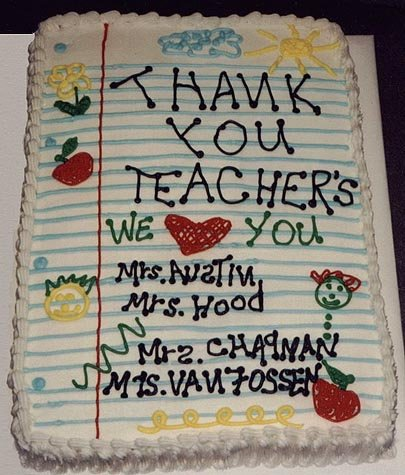 Cake Designs For Teachers Day : Need Ideas For Preschool Graduation Cake. - CakeCentral.com