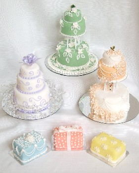 mini wedding cake small cake pan set