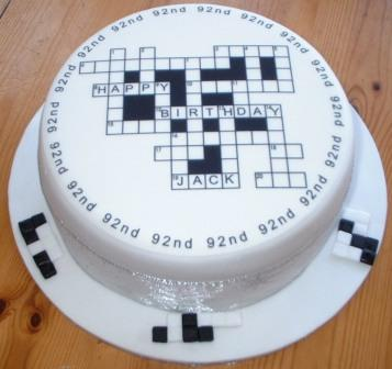 wedding cake layer crossword puzzle crossword puzzle cake cakecentral 23068