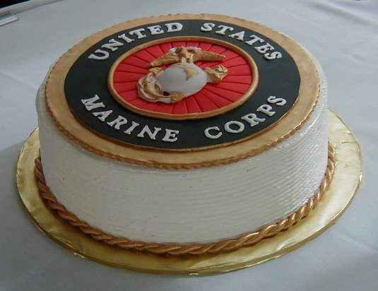 Brilliant Marine Corps Cake Help Cakecentral Com Personalised Birthday Cards Akebfashionlily Jamesorg