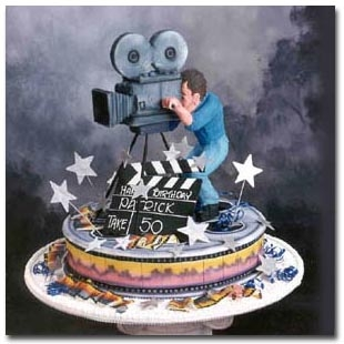Groovy Movie Birthday Cake Cakecentral Com Funny Birthday Cards Online Kookostrdamsfinfo