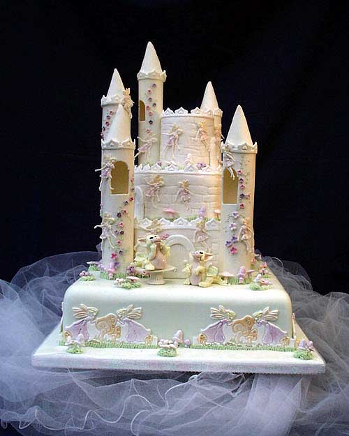 Castle Wedding Cake.To Those Who Have Made Fairytale Castle Wedding Cakes