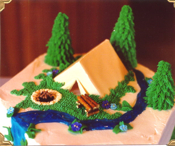 LL. catscratchfever Cake ... & How Do I Make A Teepee Cake? - CakeCentral.com