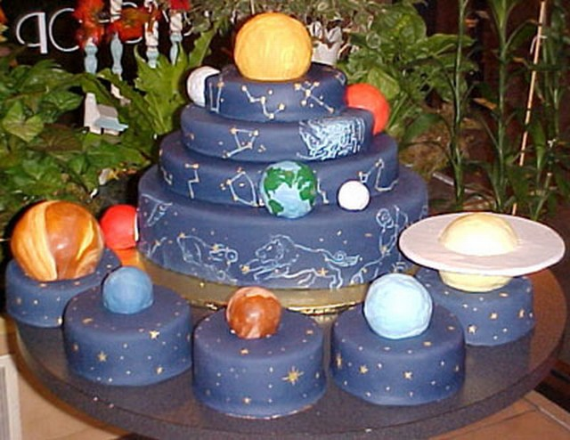 Need Ideas Constellation Cake Cakecentral Com