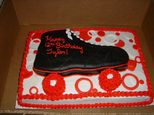 My Daughter Wants A Rollerskate Cake Cakecentral
