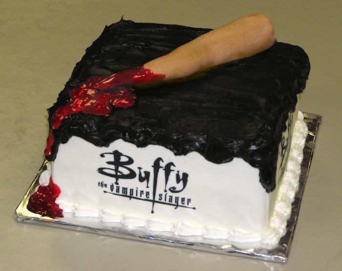 Buffy The Vampire Slayer CakeCentralcom - Slayer birthday cake