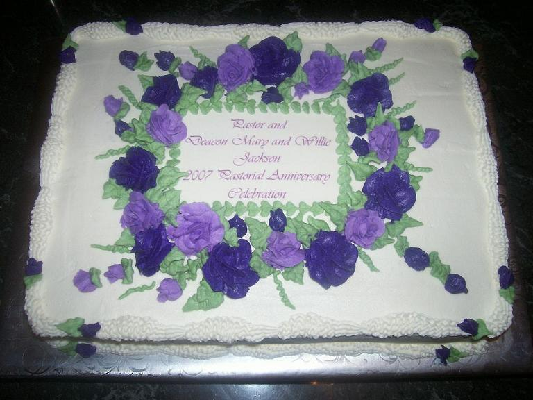 Sheet Cakes With Flowers