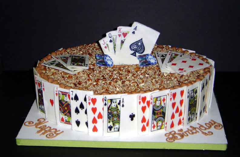 Edible Playing Cards - CakeCentral.com